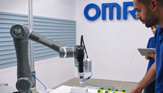 Лаборатория OMRON